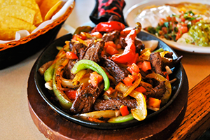 La Mexicana Tillamook Steak Fajitas